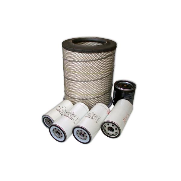 Filtersatz VOLVO FH12: Luftfilter, Oelfilter-3 St. Kraftstofffilter, Lufttrocknerpatrone