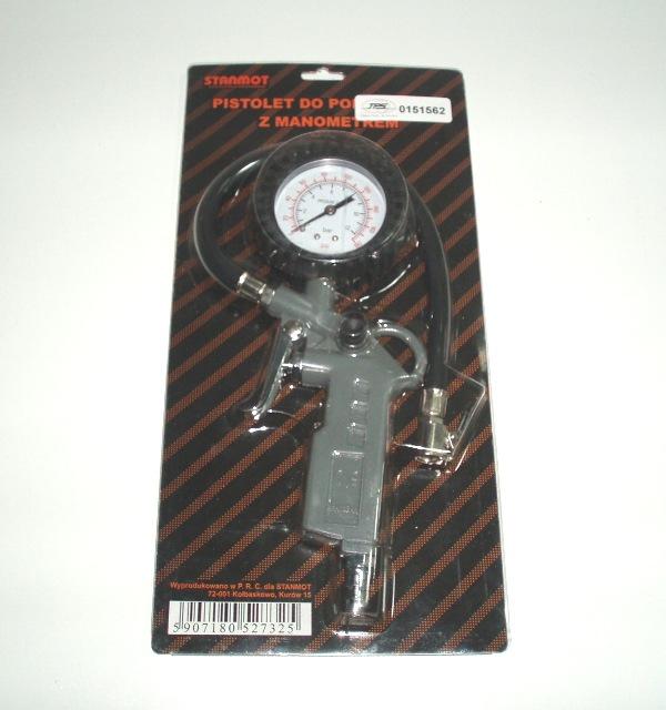 Druckluft-Reifenfüll-Pistole, 0 - 12 bar