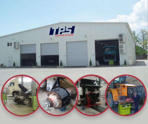 Сервиз за камиони и ремаркета