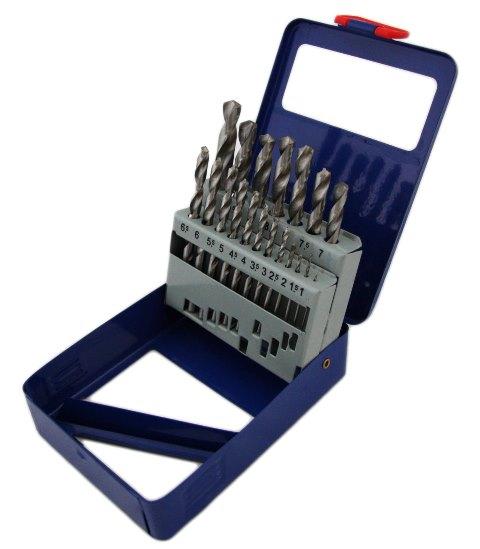 Свредла за метал к-т 1-10 mm. (19 бр.)